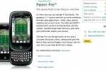 Sprint now selling Palm Pre online