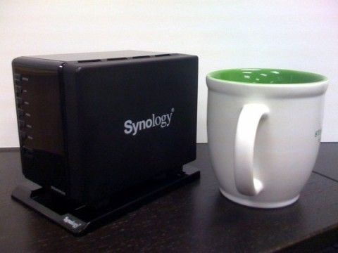Synology Disk Station DS409slim ultra-compact 4-drive NAS