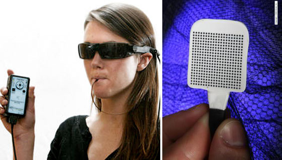 BrainPort offers blind a chance to see with tongue