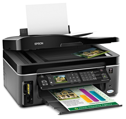 Epson WorkForce 610 and 1100 printers released