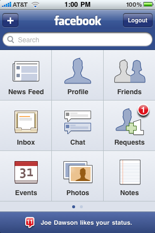 Facebook 3.0 Officially Launches in the App Store