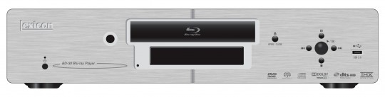 Lexicon BD-30 Blu-ray player promises future-proofing via USB