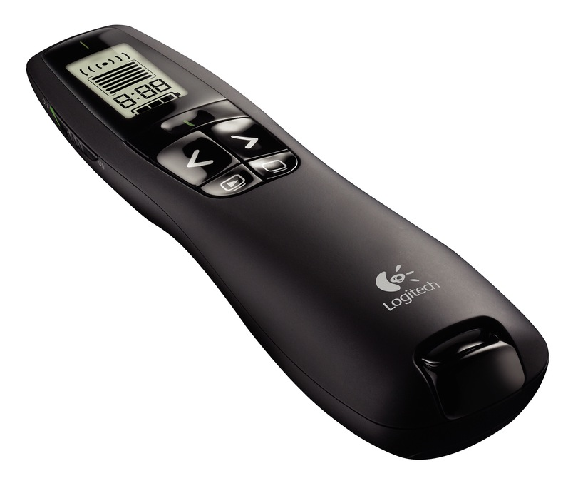 Logitech Wireless Presenter R800 and R400 remotes