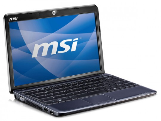MSI Wind U150 touchscreen Windows 7 netbook confirmed, plus AMD Yukon U210