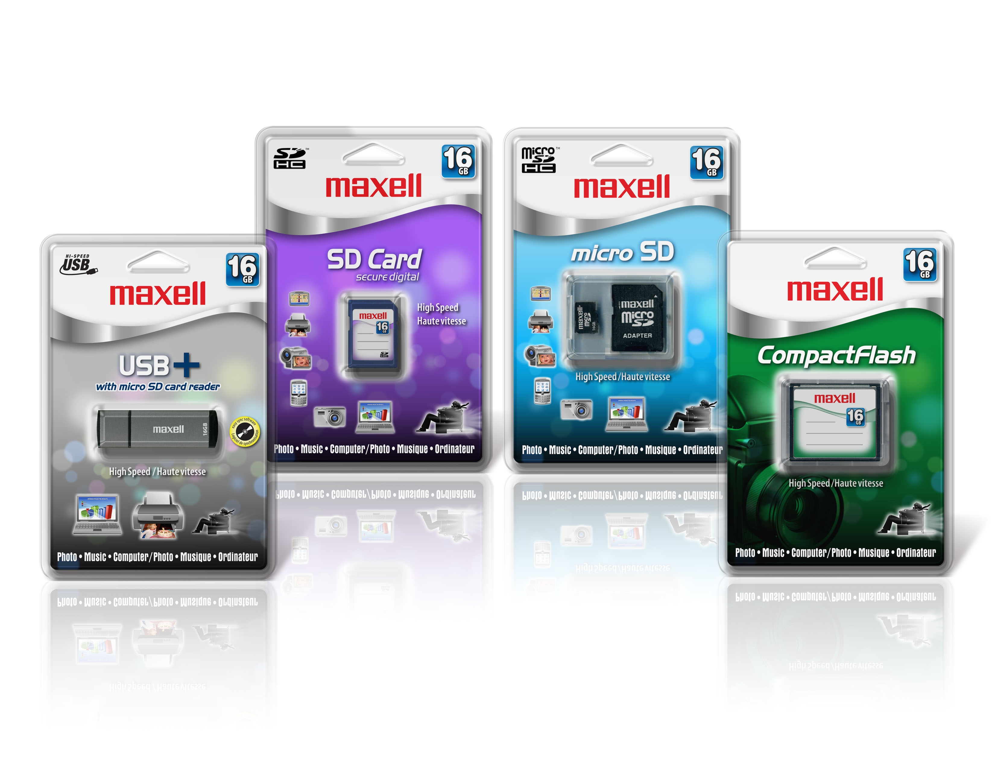 Maxell get busy with broad new flash range