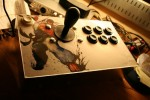 Street Fighter hand-made arcade sticks appear on Etsy