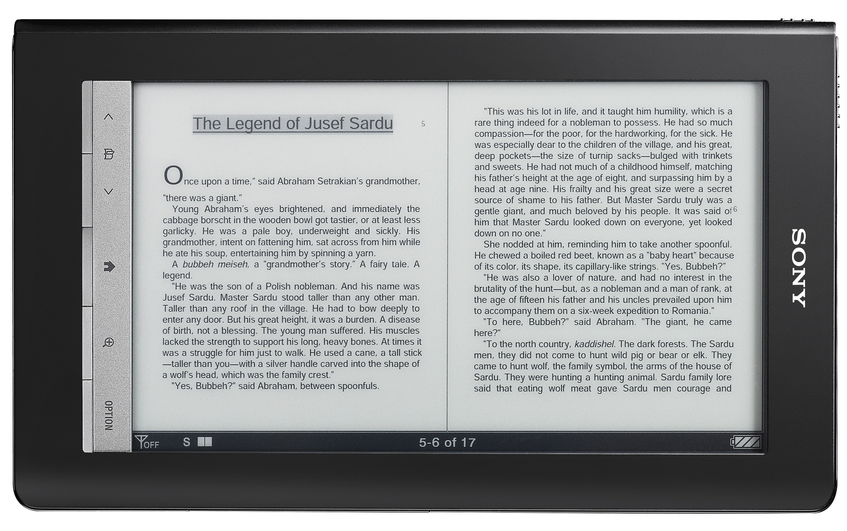 Sony Reader Daily Edition: 3G and 7-inch touchscreen for $399