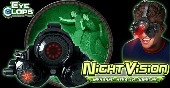 EyeClops Night Vision 2.0 Goggles ready for the holidays