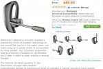 Plantronics Voyager PRO Bluetooth Headset - Apple iPhone Wireless Headsets - MY iTablet Store