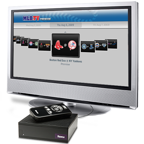 Roku add MLB.TV Baseball streaming to media box