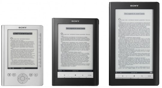 Sony color Reader on hold as e-paper quality not high enough