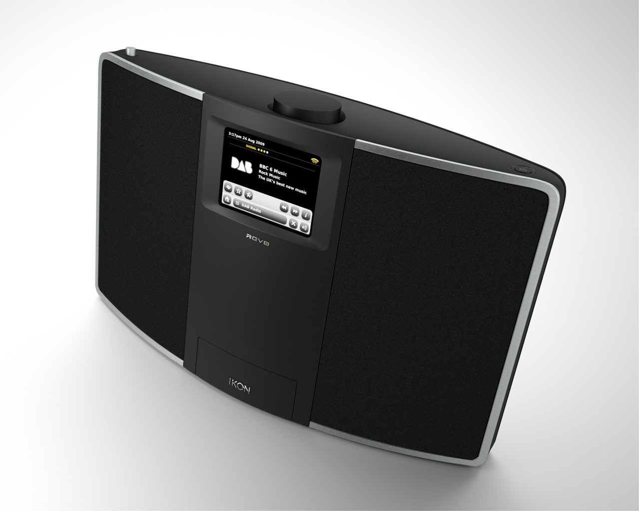 Revo IKON DAB, internet radio & iPod dock with 3.5-inch touchscreen & WiFi