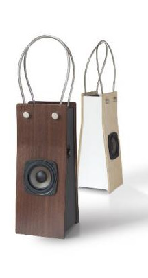 Apple iPod Mobile Speakers Look Like Bags but Aren't