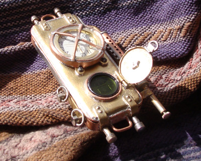 Steampunk Phone From Russia Looks Amazing