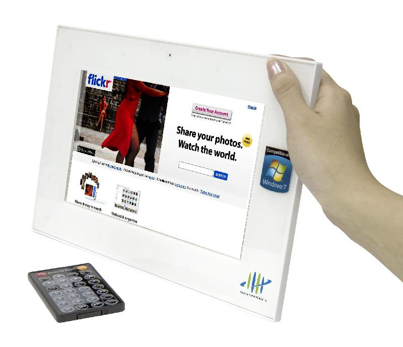"WonderMedia SmartFrame supports IPTV, Windows 7 ""Play To"" streaming"
