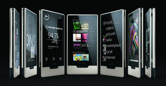 Microsoft's Zune HD Gets Specs Shown Off [Updated]