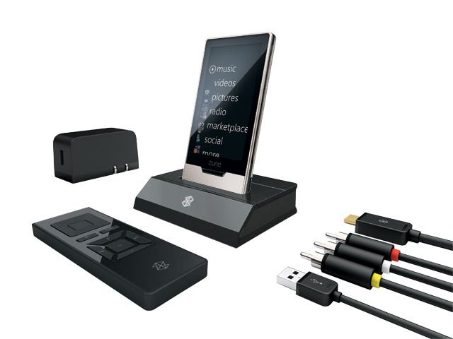 Zune HD AV Dock and other accessories detailed, priced