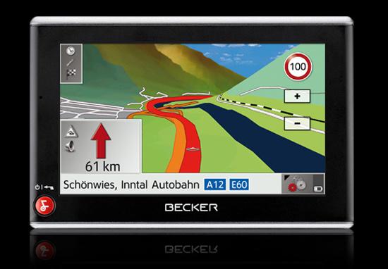 Becker Z205 PND gets 3D landscapes [Video]
