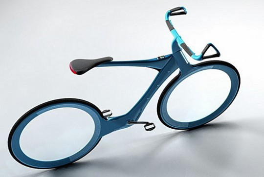 Intelligent Cycle concept has biometrics, solar-panels, Olympian-blessing