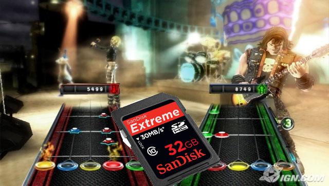Guitar Hero 5 for Wii debuts full SD streaming & loading