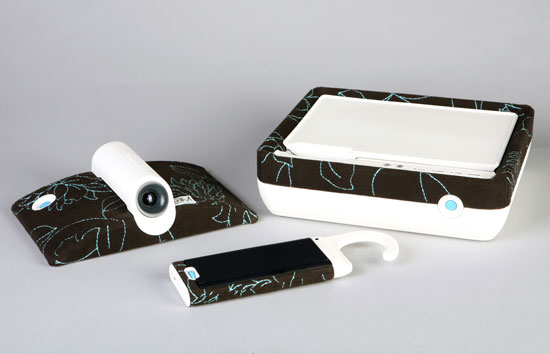 Buddy home computer concept blends touch, projection and needlepoint