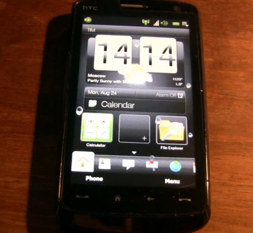 Touch HD gets HTC Leo TouchFLO 2.6 and WM6.5 [Video]