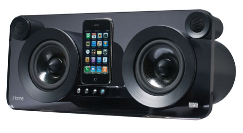 iHome iP1 iPhone dock speaker system now available