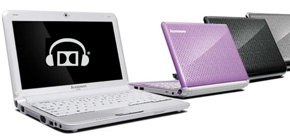 Lenovo netbooks get Dolby Headphone virtual surround sound