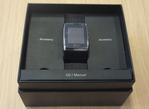 LG GD910 watch-phone gets unboxed