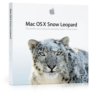 Apple OS X 10.6 Snow Leopard ships August 28th for $29