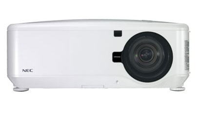 NEC unveils new WXGA projector for large venues