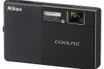 Nikon Coolpix S1000pj pico-projector camera official, plus S70, S640 and S570 digicams