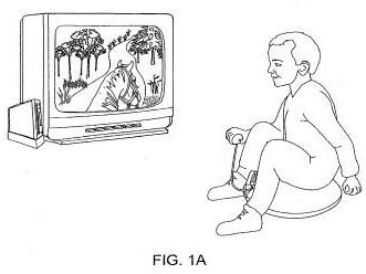 Nintendo inflatable horse-riding controller is patent genius