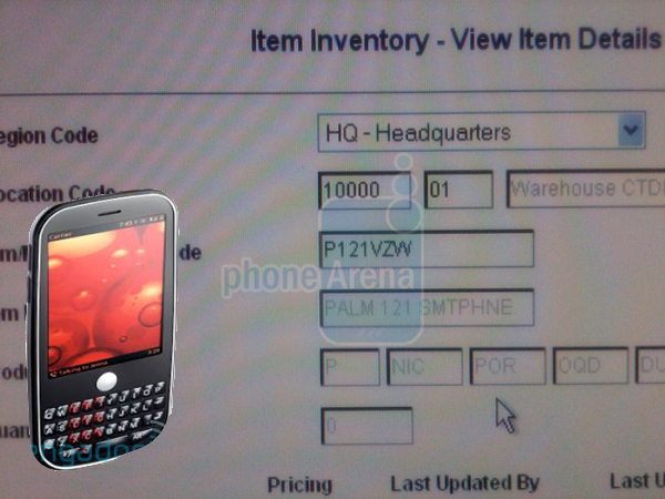 Verizon leak tips Palm P101 and P121: Pre and Eos?