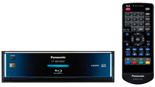 Panasonic CY-BB1000D in-car Blu-ray player revealed