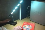 Project TOPLESS demo OLED desk lamp [Video]