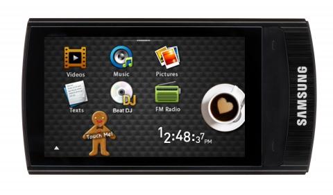 Samsung unveils new R1 multimedia player