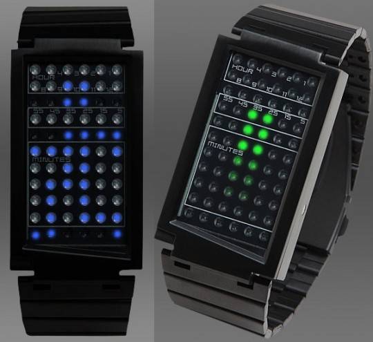 SeaHope take on Tokyoflash with touchscreen LED watch