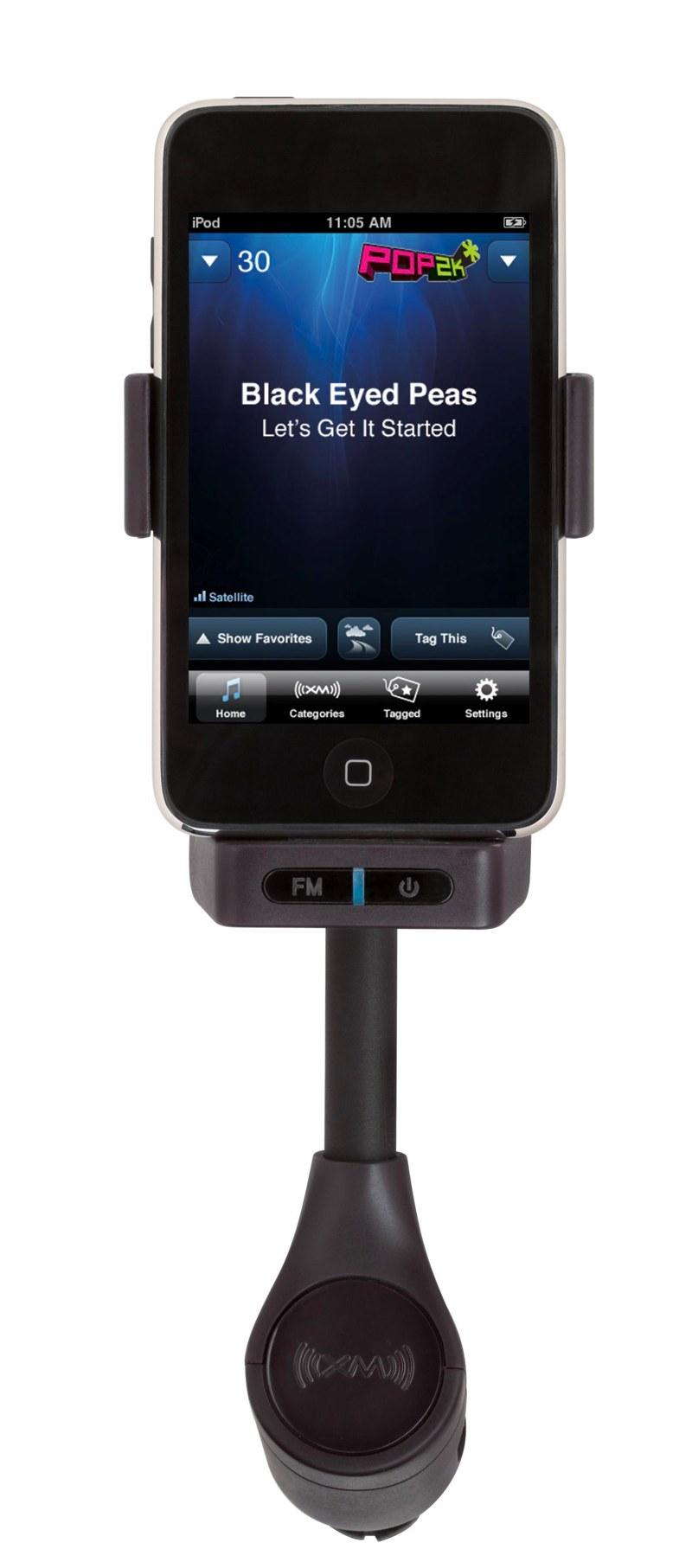 Sirius XM reveal XM SkyDock iPhone and iPod touch satellite radio system