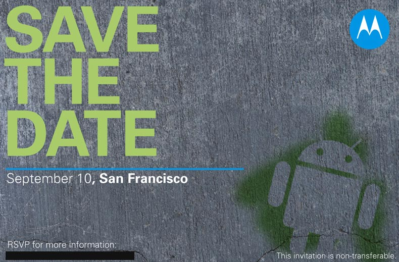 Motorola Has An Announcement to Make on September 10