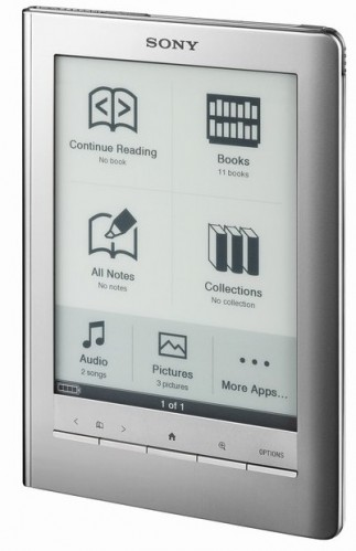 Sony to adopt common ePub ebook format; Wireless Reader next? [Updated]
