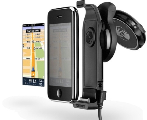 TomTom car-kit supports iPod touch, other PND apps