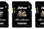 Toshiba 64GB SDXC memory card announced: lands Spring 2010