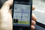 Waze iPhone GPS app uses crowd-sourcing for real time traffic
