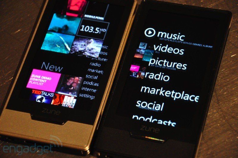 Zune HD gets two more hands-on video demos