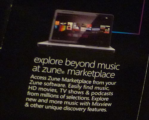 Microsoft Zune HD Pamphlet Shows Off HD Movies In Marketplace