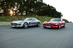 Mercedes Benz unveil 2010 SLS AMG gullwing