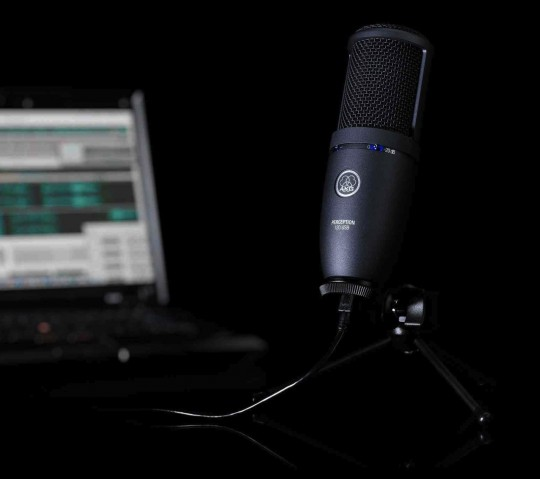AKG Perception 120 USB microphone promises pro-audio podcasts