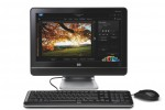 HP MS200 All-in-One PC - front view