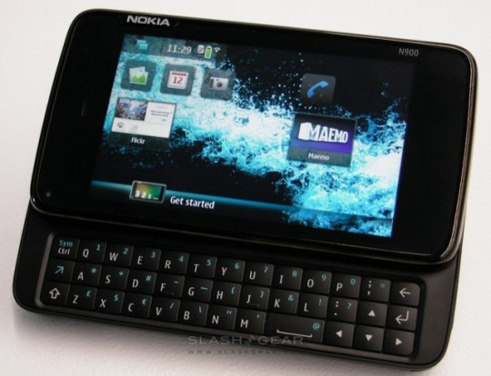 N900 gets Maemo 5 PR1.1 update: Exchange 2003 support, Ovi Maps improved